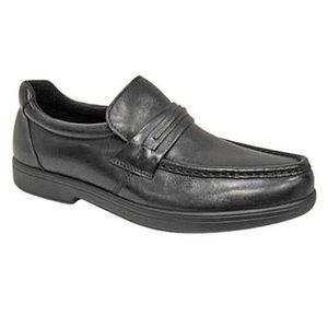 Men's Wonderlite Black Slip On Walter Loafers